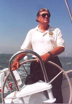 Anthony Gallow at the helm